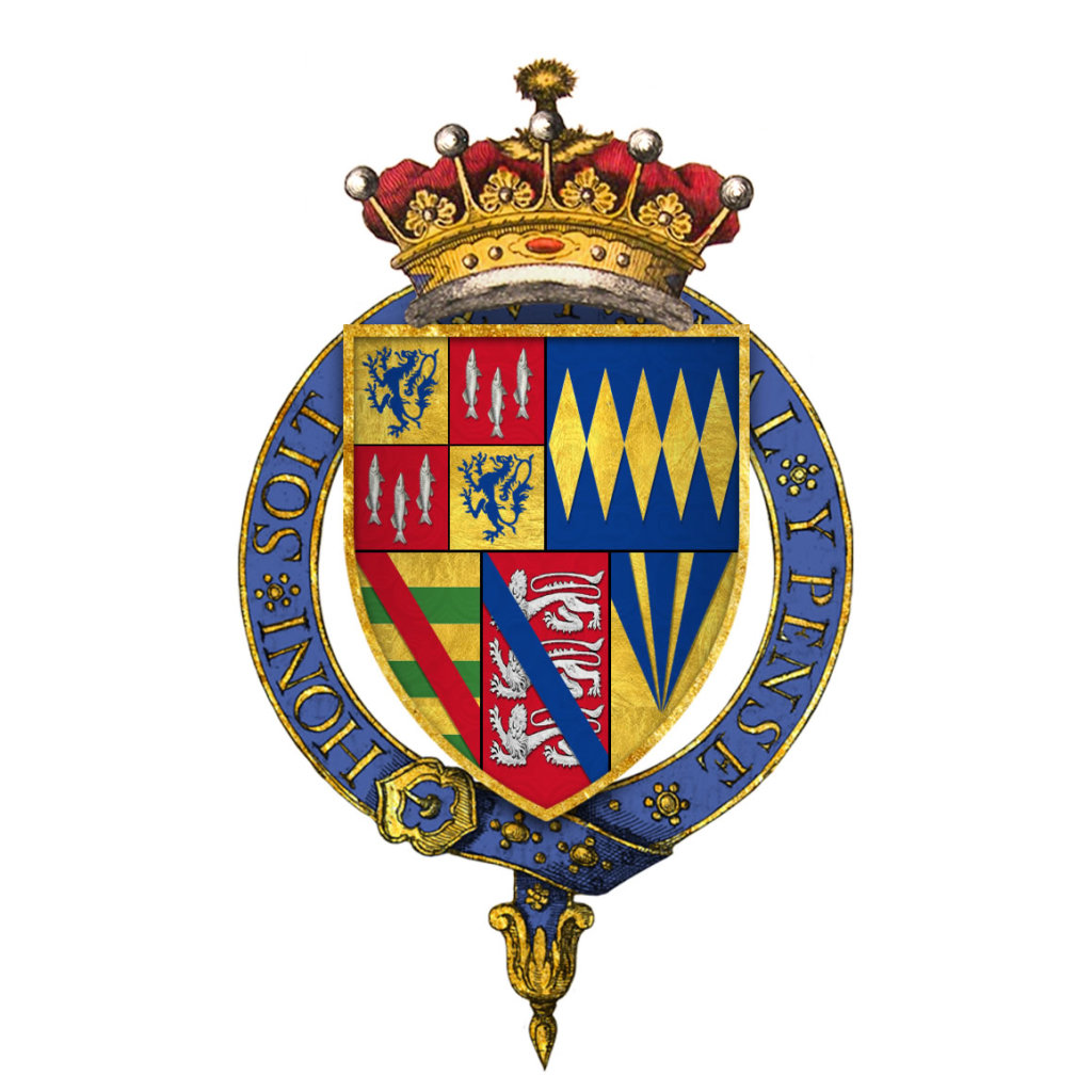 Arms of Sir Henry Algernon Percy 5th Earl of Northumberland.